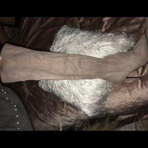 Knee high- suede ALDO boots